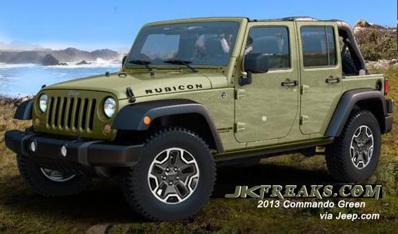 2013 commando green who s sold archive jkfreaks 2007 2017
