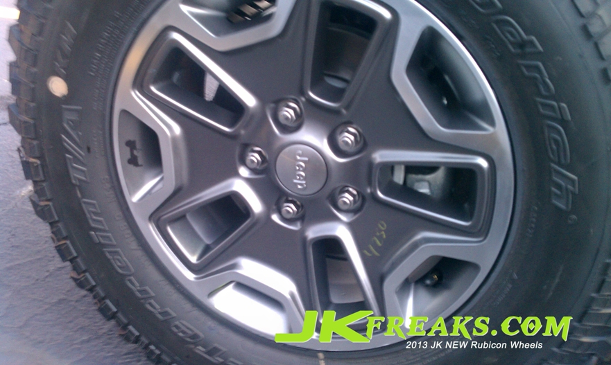 2013 Jeep Wrangler Rubicon First Look Pics