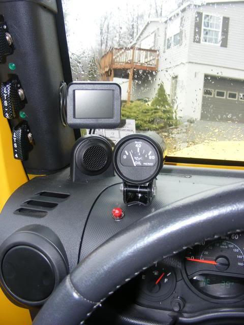 Oil Pressure Gauge Install – Jeep Gauge Wiring