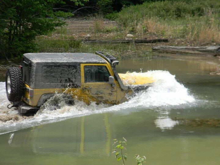 Jeep Wrangler: Water Fording [Official Jeep Video] - Page 2